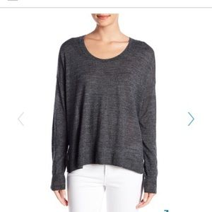 Madewell hi low blouse